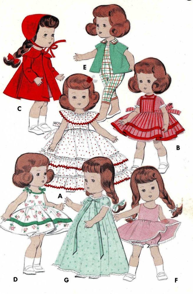 332 Best Doll Clothes Patterns Images On Pinterest Clothes