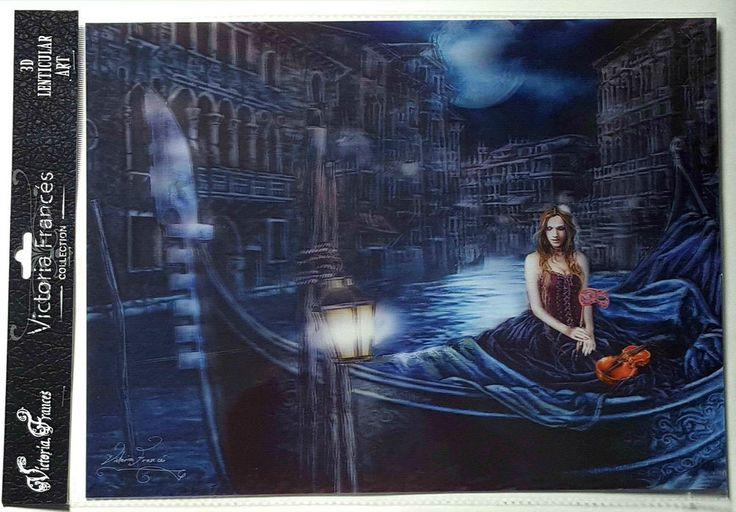 Brand New Licensed 3D Lenticular Victoria Frances REINA DE LOS PROSCRITOS Gothic