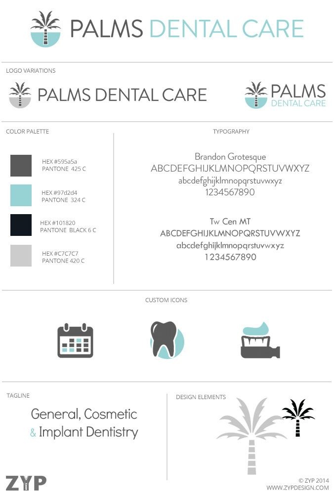 Brand Launch - Palms Dental Care — Zyp | Graphic Design & Marketing
