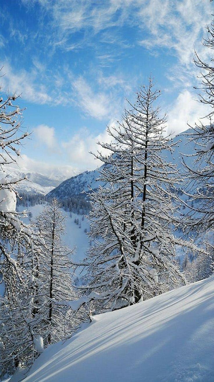 Winter Wonderland - Wintertime in Serre Chevalier, France. - photographer Andrew Arseev