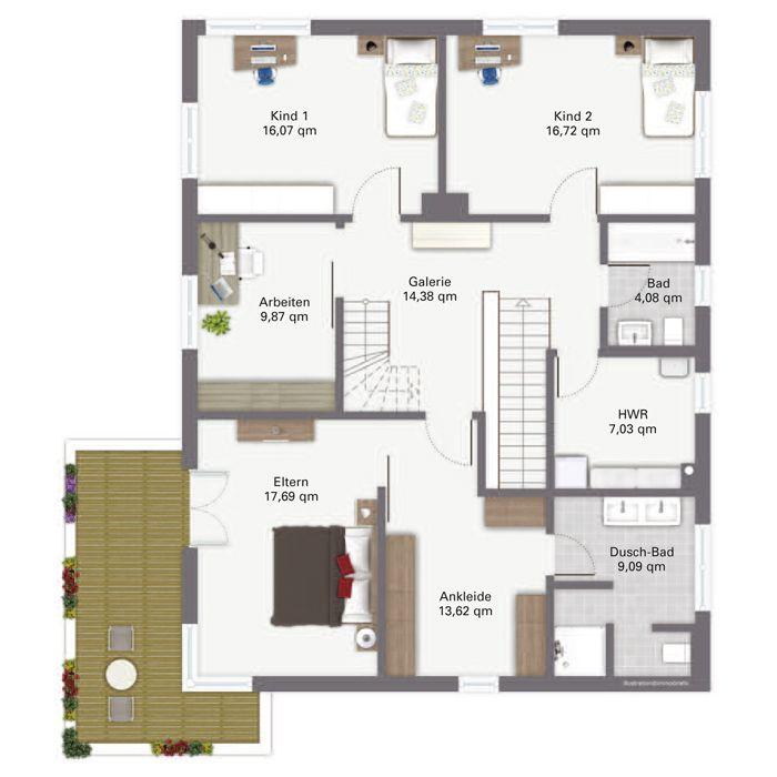 Fertighaus grundriss  156 besten floorplans Bilder auf Pinterest | Haus grundrisse ...