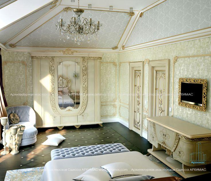 Дизайн проект в жилом 2-х этажном доме Нью-Йорк на острове Лонг-Айленд Архимас