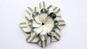 Wonderful Money FLOWER MANDALA Modular Origami Dol…