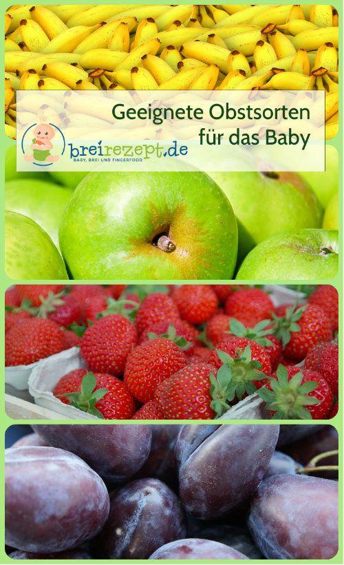 Geeignete Obstsorten für das Baby