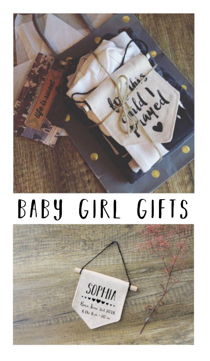 baby girl gifts banners