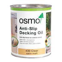 Osmo Anti Slip Decking Oil 430   Non Slip Decking Oil For Any Decking