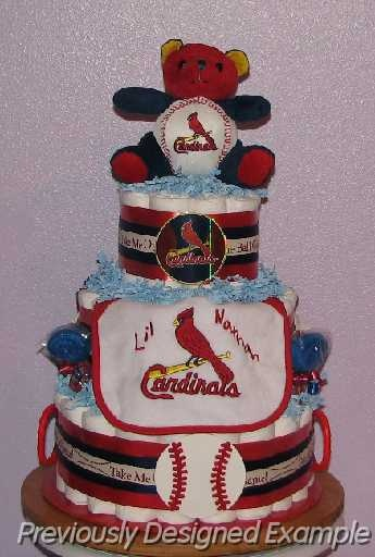 Baby Gift Expo : The ultimate baby shower gift for st louis cardinal fans