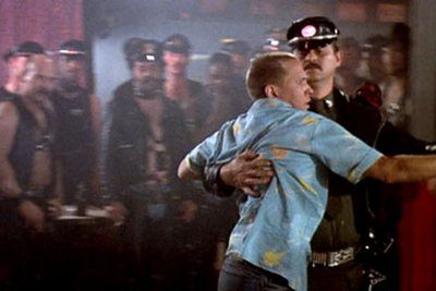 Police Academy (1984): at the Blue Oyster bar. - I've watched this scene repetitly and I always get in pain 'cause the laughing