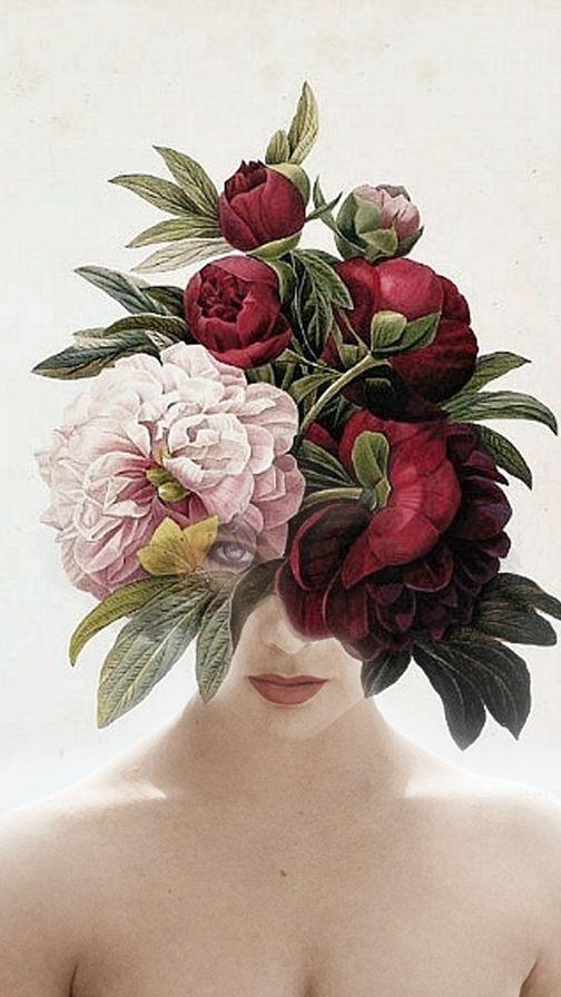 Eva by Antonio Mora. Digital collage surrealist | pinterest.com/amoradiez/dreamportraits/