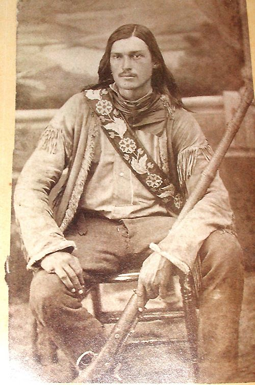 """Luther """"Yellowstone"""" Kelly, Montana frontiersman and scout for Gen. Nelson Miles."""