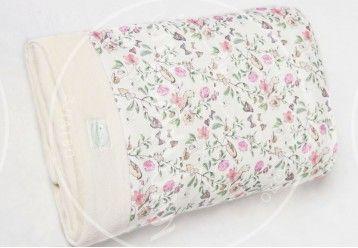Baby Blanket Parisian Chic - 100% ORGANIC COTTON