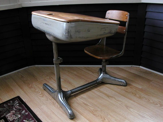 1940 S School Desk Chair A Breath Of Fresh Water Desks