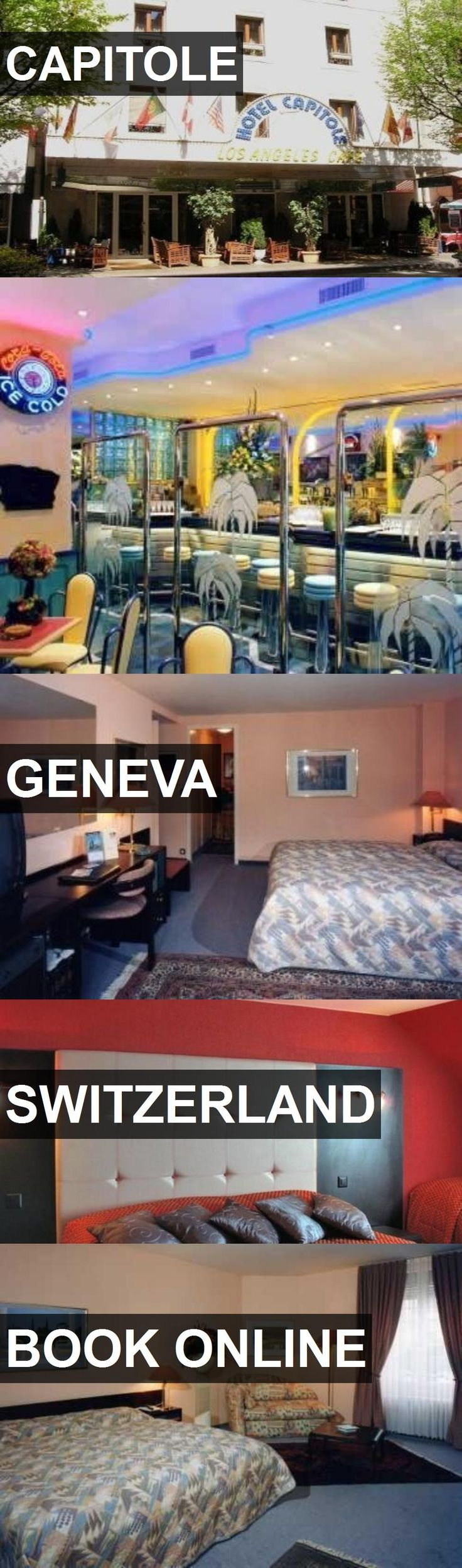 Hotel CAPITOLE in Geneva, Switzerland. For more information, photos, reviews and best prices please follow the link. #Switzerland #Geneva #travel #vacation #hotel