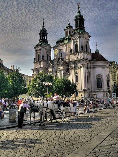 Czech Republic - Prague - Old Town - Carriage Ride