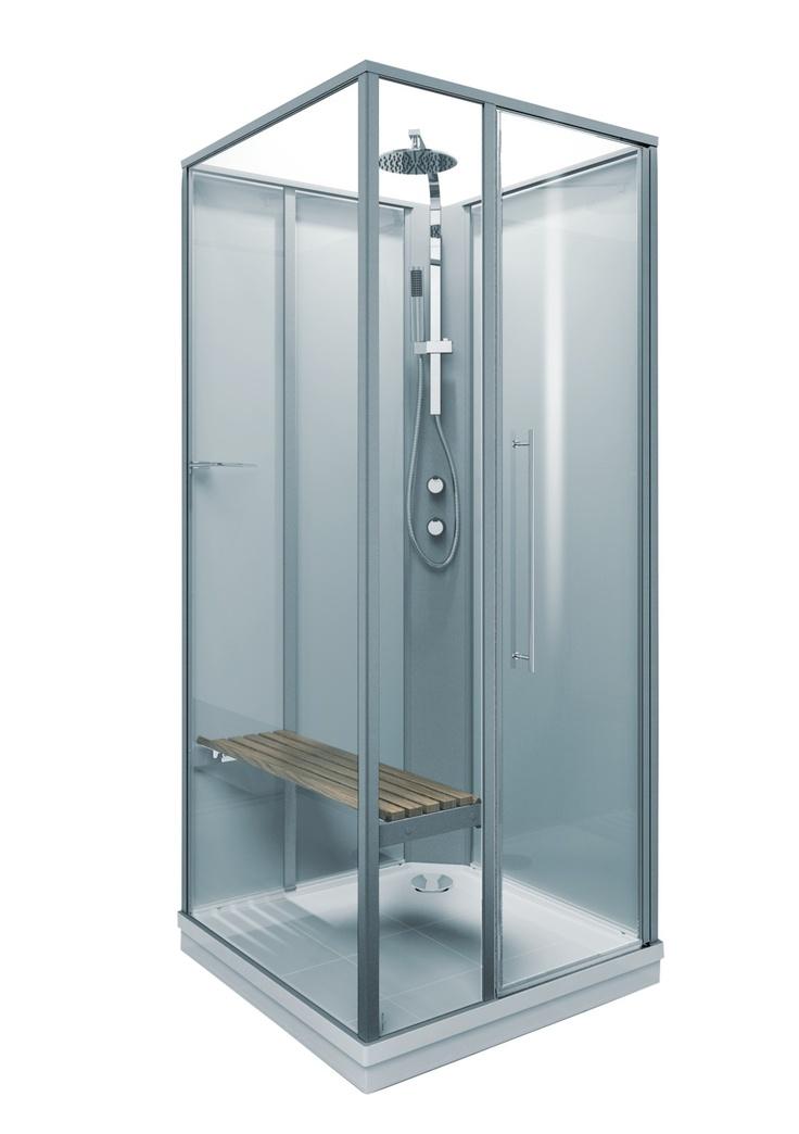 Bathroom... Wood seating / meditative shower