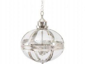 Dorchester Ovate Glass Nickel Lantern £545