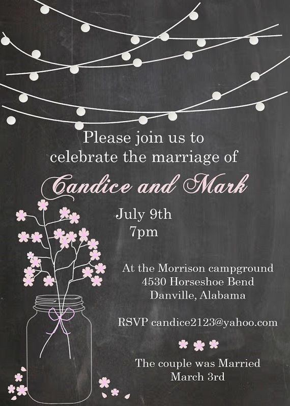 11 best Wedding bells images on Pinterest Weddings, Earrings and - invitation wording for elopement party