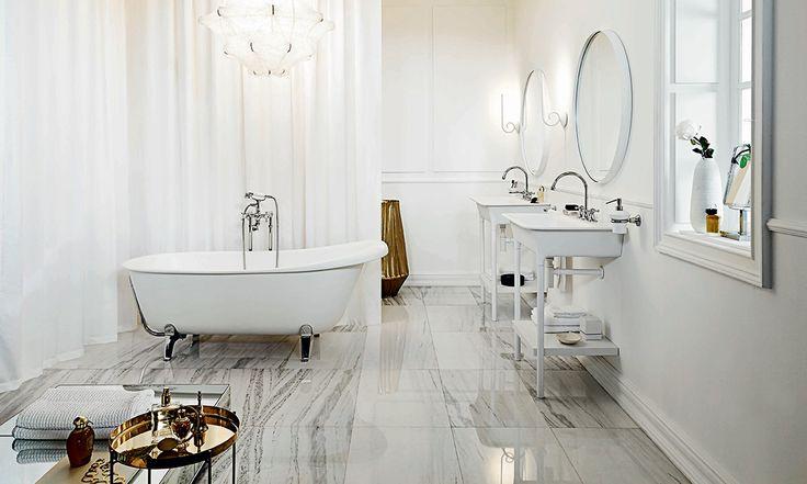 Zucchetti Agorà series bathroom setting