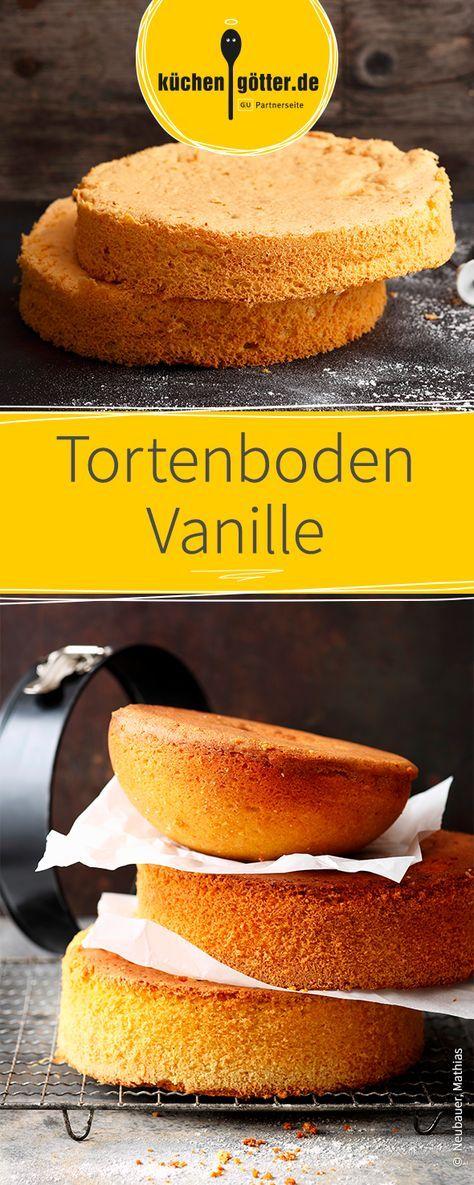 Tortenboden Vanille   Rezept   Kuchen und torten, Lecker
