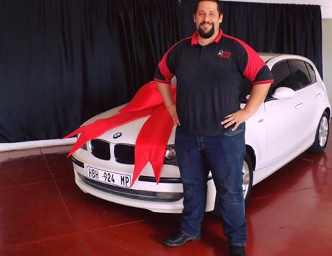 Mr Alan Mellett taking ownership of his BMW 1 Series ! 🚗 #WeGetYouMoving #AnotherSuccessfulDelivery #SatisfiedClients #FinanceAvailable #ThroughAllMajorBanks #TheMotorManWay #TheMotormanEffect #motorman #cars #nigel  For the best deals call us now at:  011 814 1729 Whatsapp us now at: 083 440 9121 Or Email us on Leads@motorman.co.za We only post pictures with permission of the client #permissiongranted  ... Proudly brought to you by MotorMan! 🚗