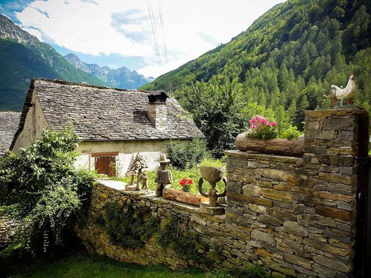 Sonogno, Valle Verzasca-Switzerland