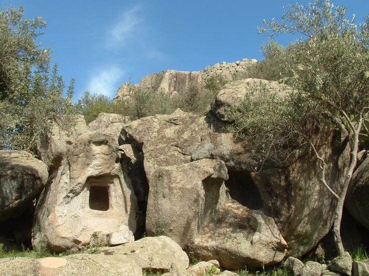 Domus de Janas di Scerì, Ilbono #Ogliastra #Sardinia