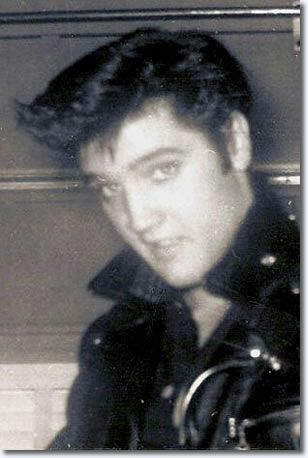 Elvis Presley Photos in the 1950s  I love the messy pompador