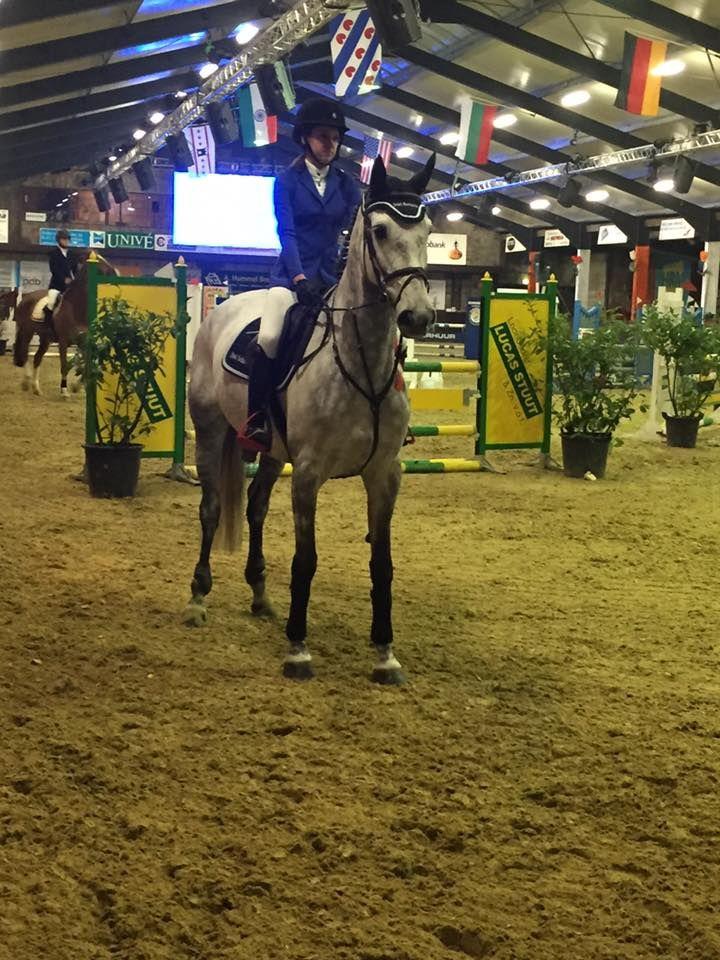 Marscha Schutte won bij Indoor Tolbert de B-finale