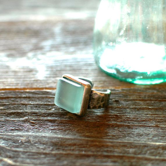 CocaCola Bottle Ring // Adjustable Recycled Pewter Band by reVetro