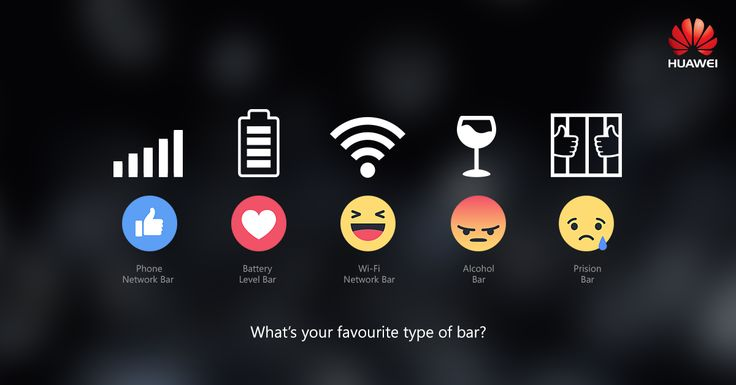 Everybody has a favourite bar, whether it's a bar of chocolate or bars of wi-fi network. Which one is your favourite, react and tell! #TGIF Click to react: https://goo.gl/Lex7LU