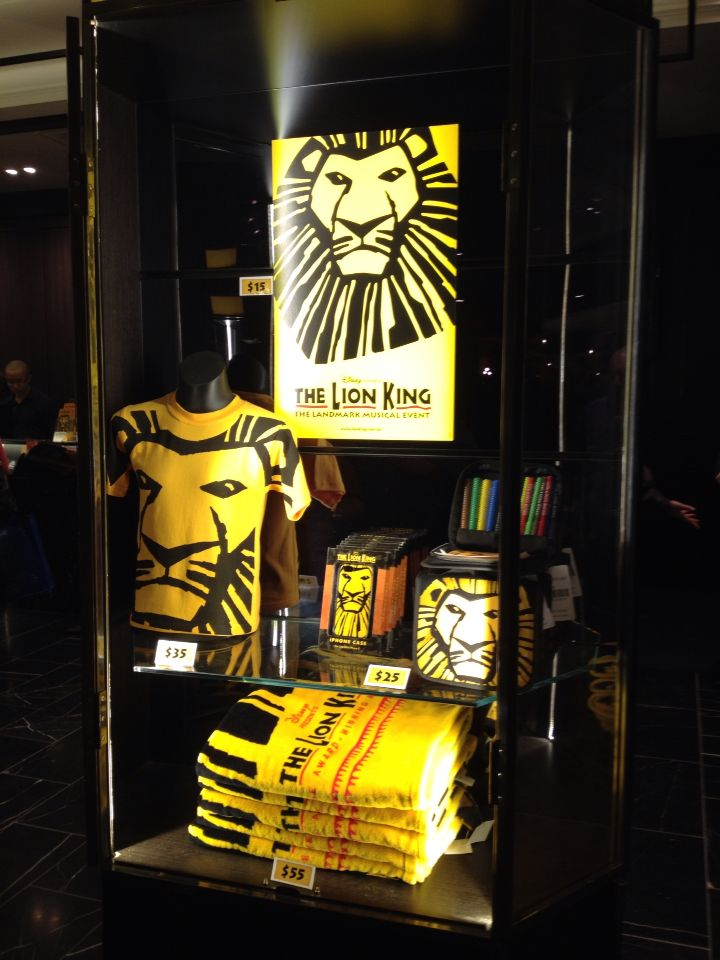 The Lion King a puppetry spectacular September 2014