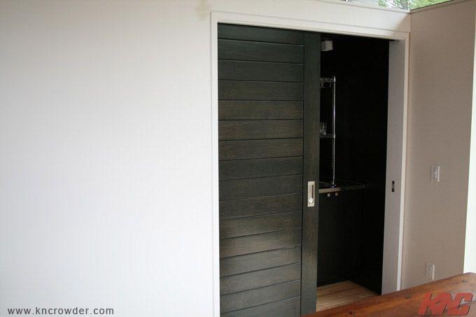 kn crowder single sliding pocket door heavy duty sliding door hardware used for this custom. Black Bedroom Furniture Sets. Home Design Ideas