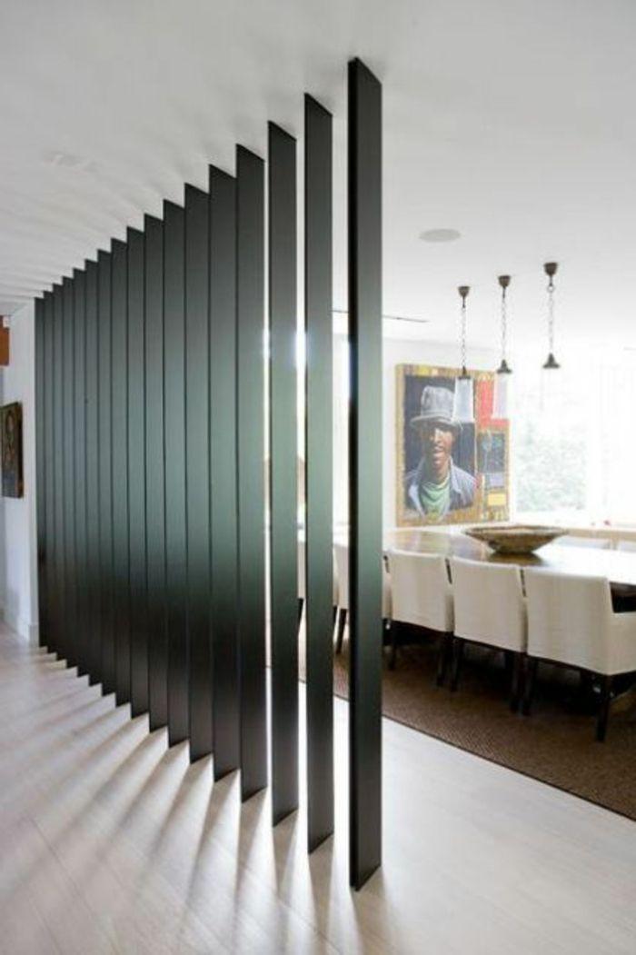 1001 ideen zum thema offene k che trennen maison pinterest offenes wohnzimmer wandbilder. Black Bedroom Furniture Sets. Home Design Ideas