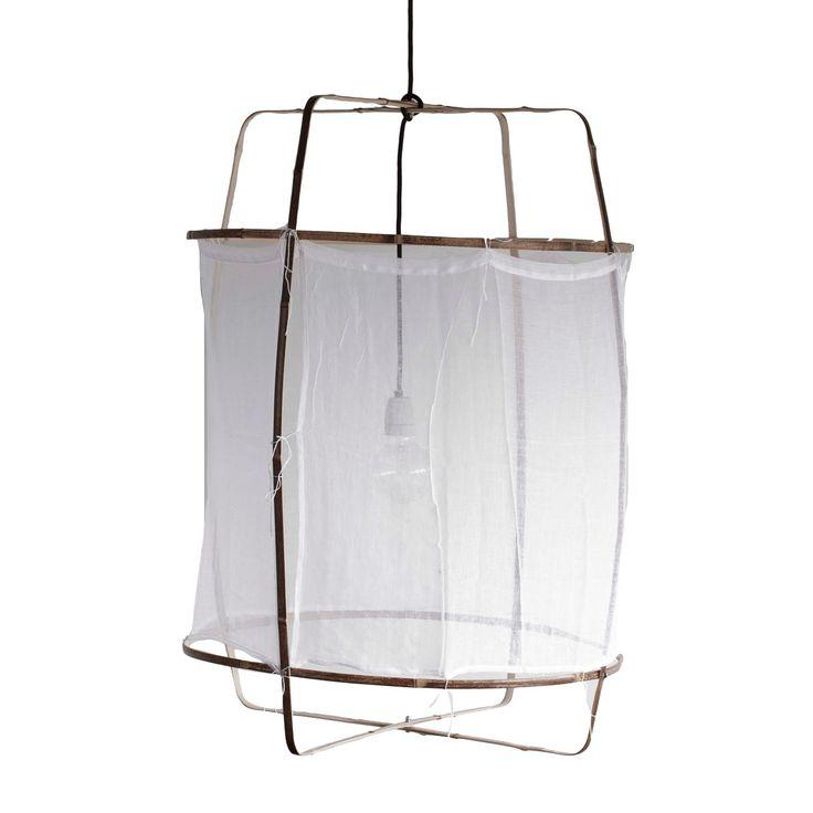 Ay Illuminate hanglamp Z1 zwart katoen ø67 x 100 cm