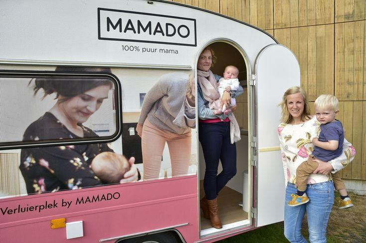 Binnenkort krijgen ook baby's een eigen foodtruck. Lies Roelens van de borstvoedingswinkel Mamado bedacht een borstvoedingstruck waar jonge moeders in alle...
