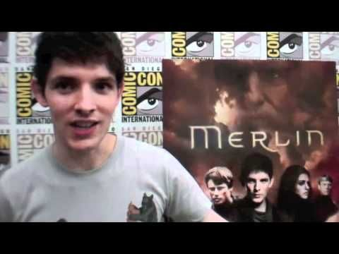 ▶ Cody Deal Interviews Merlin's Colin Morgan at Comic Con 2011 - YouTube