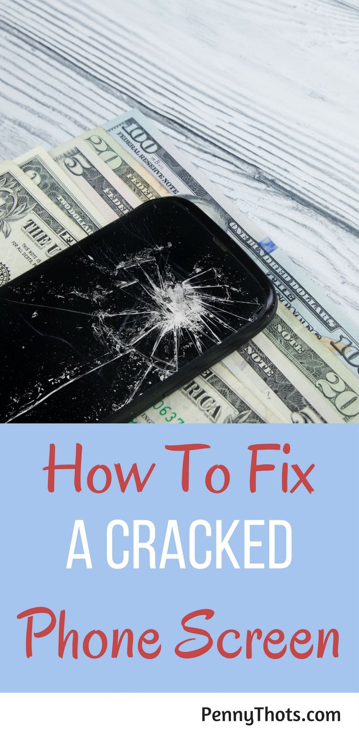 How To Fix A Cracked Phone Screen | if you cracked your smartphone screen, you might think you need a new phone. But you don't You can easily fix a broken phone screen. Click through to learn how you can do save money! via @jondulin