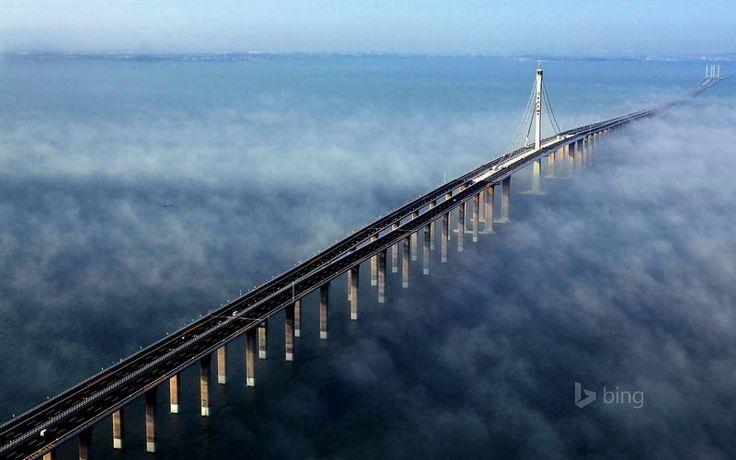 Lake Pontchartrain Causeway ~ The longest bridge in the world. Luisiana, USA