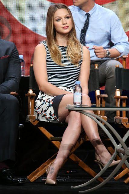 """ MELISSA BENOIST "" - Cute n Leggy @ Supergirl panel @ Summer TCA Tour, Beverly Hills | World4SMS.com : BoxOffice, Bollywood News, Trailers"