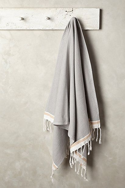 obsessed with Turkish towels. I use them for everything: scarves mainly, but sarongs, towels, even a table cloth or picnic blanket.