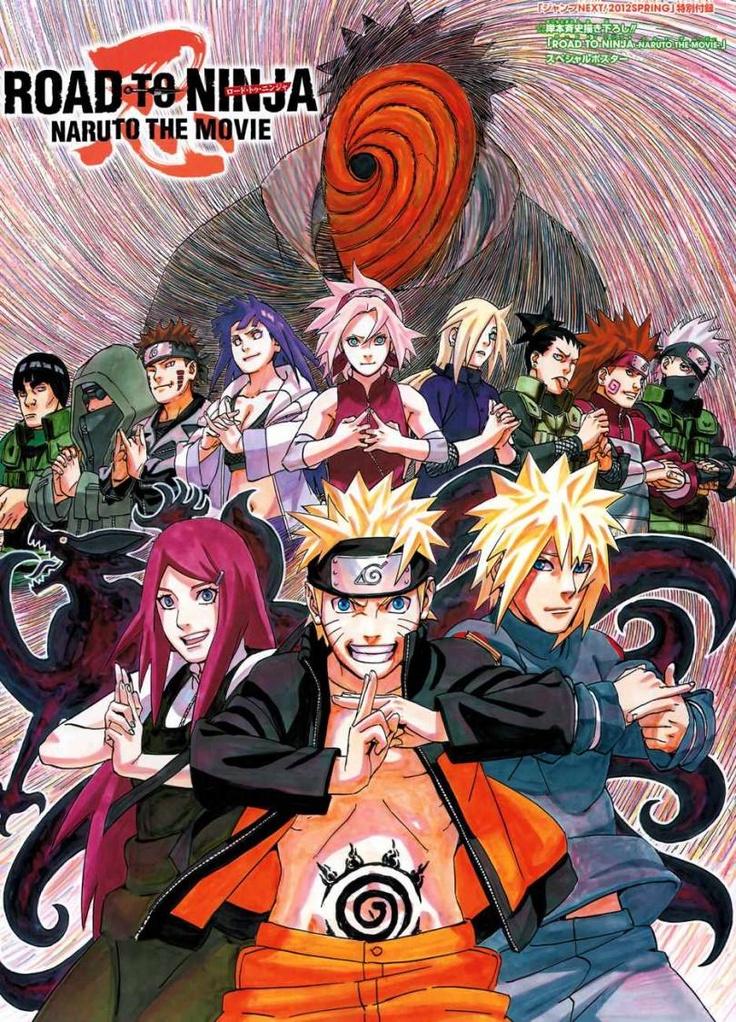 Naruto. Road to Ninja Movie Poster