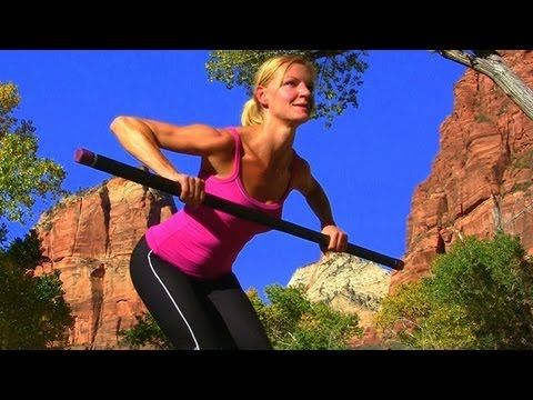 Weighted Bar Workout ★ Body Toning  Liked this one and my arms were burning!