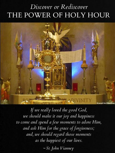 The Power of Eucharistic Adoration