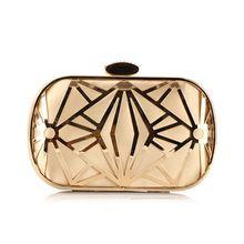 Luxus Aushöhlen Abendtaschen Frauen Rhines Gold Kristall Abend Kupplung Marke Kleine Umhängetaschen Damen Handtaschen //Price: $US $25.19 & FREE Shipping //     #abendkleider