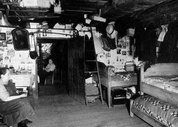 Inside The Walker Sisters Cabin Tn Wanda Pinterest
