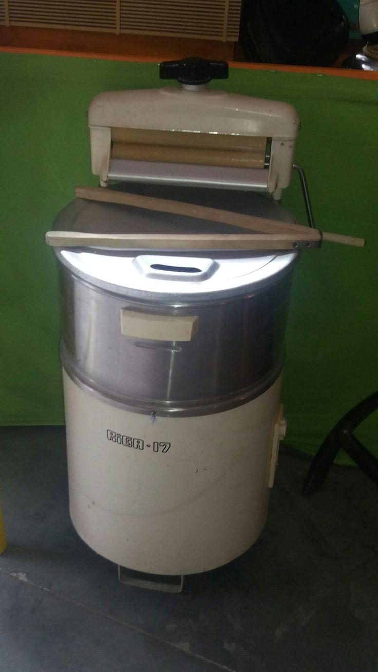 Стиральная машина с ручным отжимом
