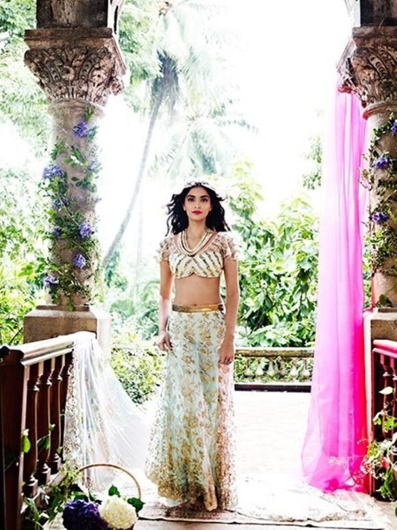 Sonam Kapoor for Shehla Khan