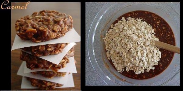 Proste owsiane ciasteczka bez pieczenia! Nie ma nic łatwiejszego!