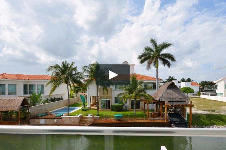 WATERFRONT HOUSE FOR SALE IN CANCUN on Vimeo