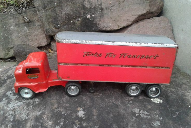 Toys For Trucks Everett : Tonka toys mound metalcraft was created in